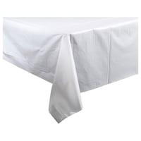 Bulk White Plastic Table Covers 54x108