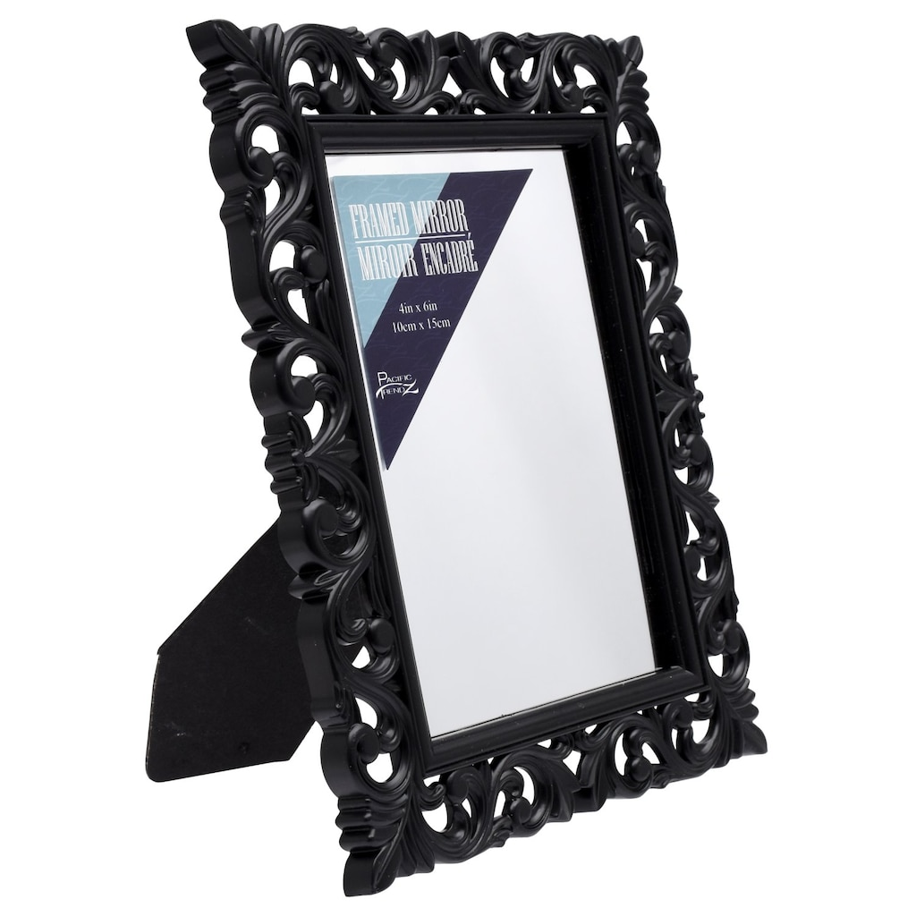 c2eadb9e5bf Ornate Black Framed Mirrors