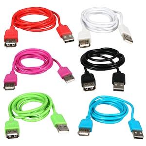 1757ea39d5b View E-Circuit Colorful USB Extension Cables,