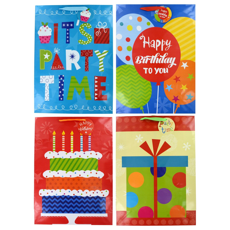 Voila Classic Birthday Gift Bags