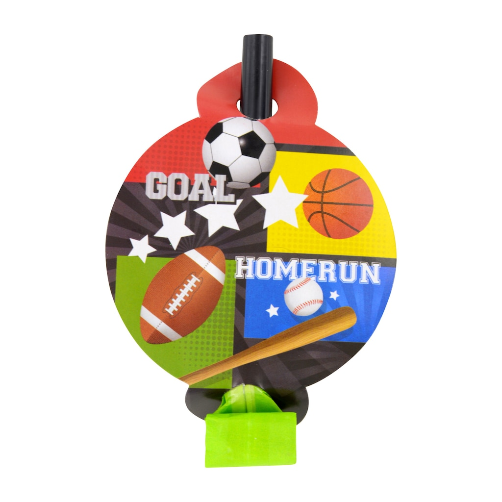 All Sports Party Blowouts 8 Ct Packs