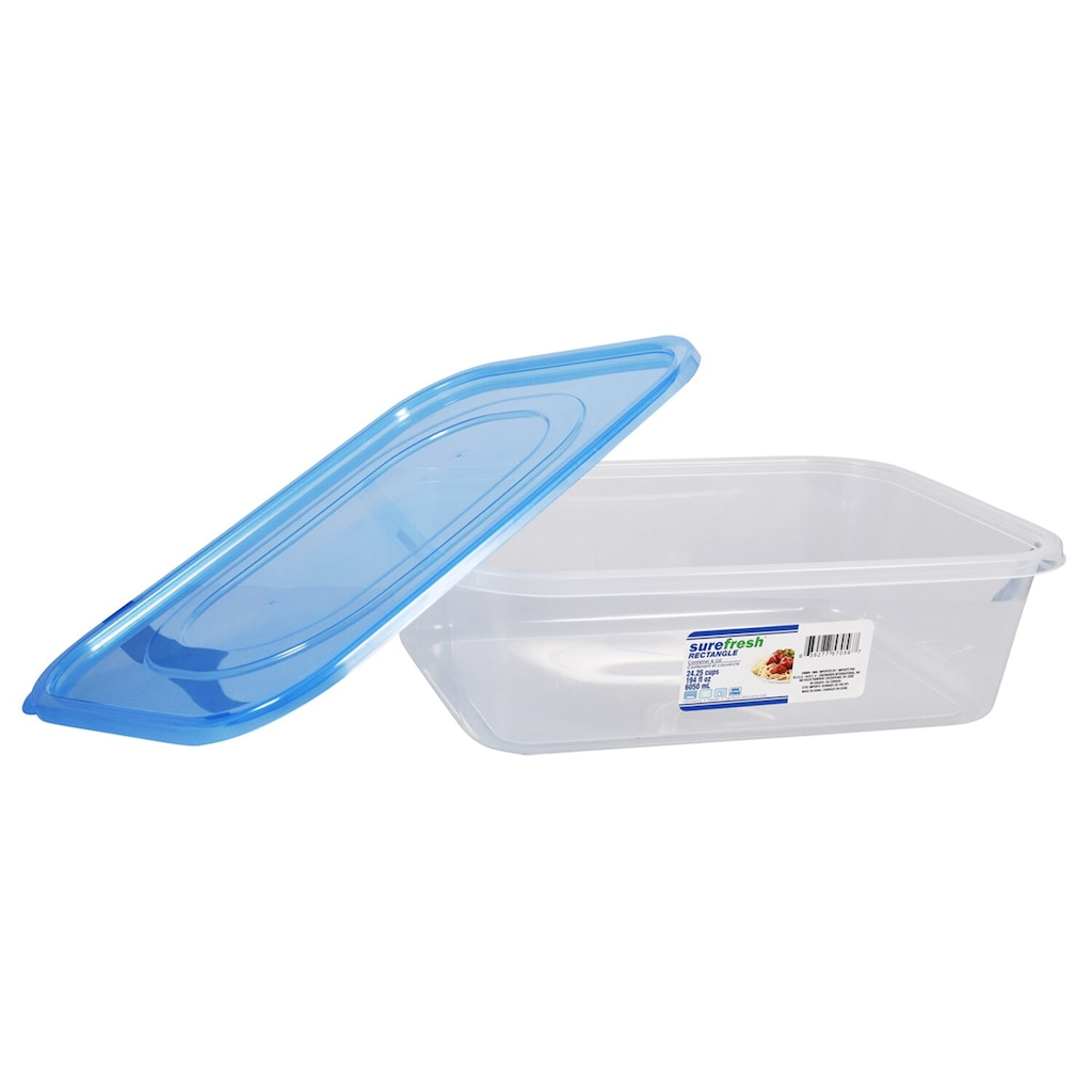Sure Fresh Rectangular Deep Storage Containers 194 Oz