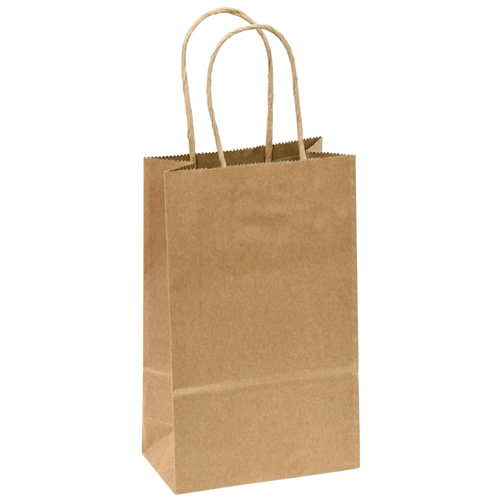 Display Product Reviews For Natural Kraft Paper Gift Bags 3 Ct Packs