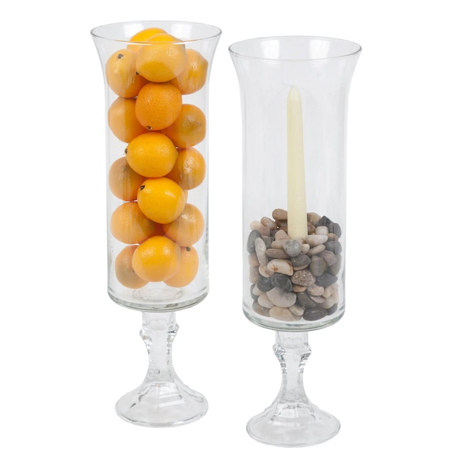 Dollartree Craft Idea Glass Hurricane Vases
