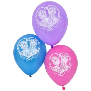 Disney Frozen Latex Printed Balloons 6 Ct Packs