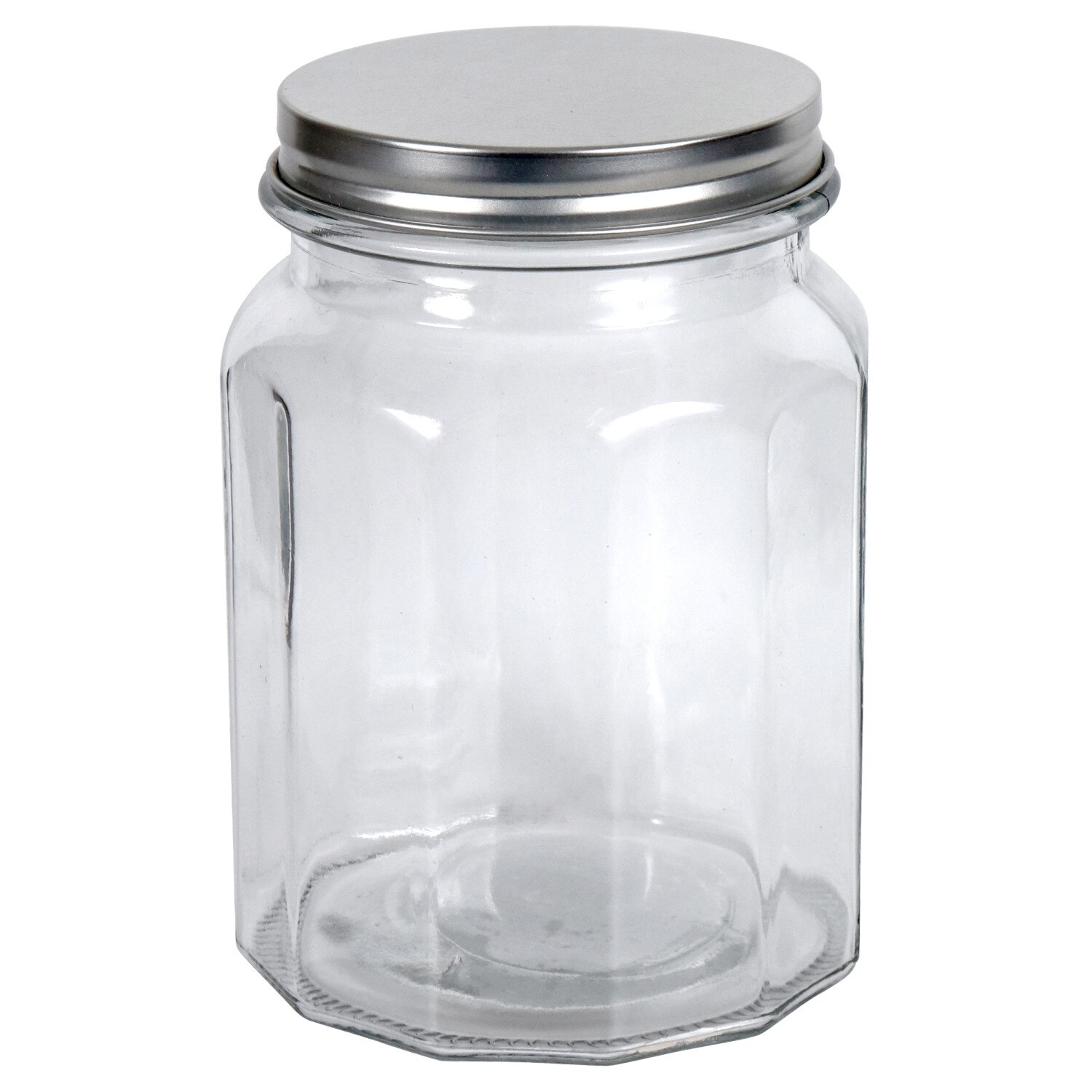 Display Product Reviews For Ribbed Glass Storage Jars With Metal Twist On Lids 28