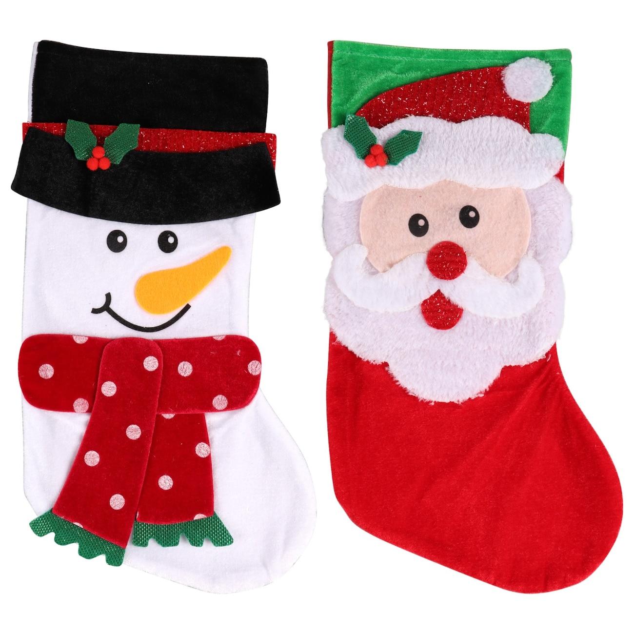 christmas house felt character stockings 18 in