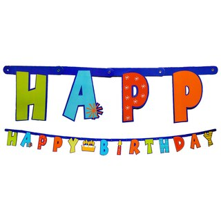 4f96aa613541 Whimsical Happy Birthday Letter Banners, 7 ft.