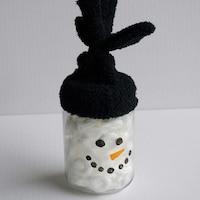Snowman Candy Jars Dollar Tree