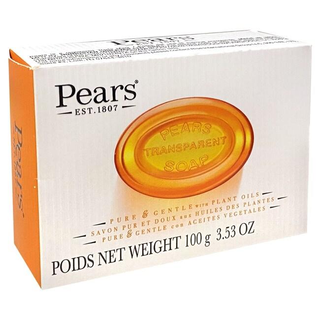 Pears Transparent Glycerine Soap, 3 5-oz  Bars