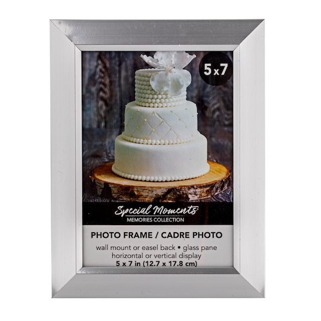 DollarTree.com   Special Moments Traditional Angled Silver Polyfoam ...