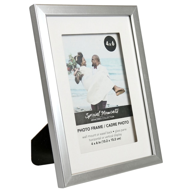 DollarTree.com   Bulk Special Moments Classic Silver Matted Picture ...
