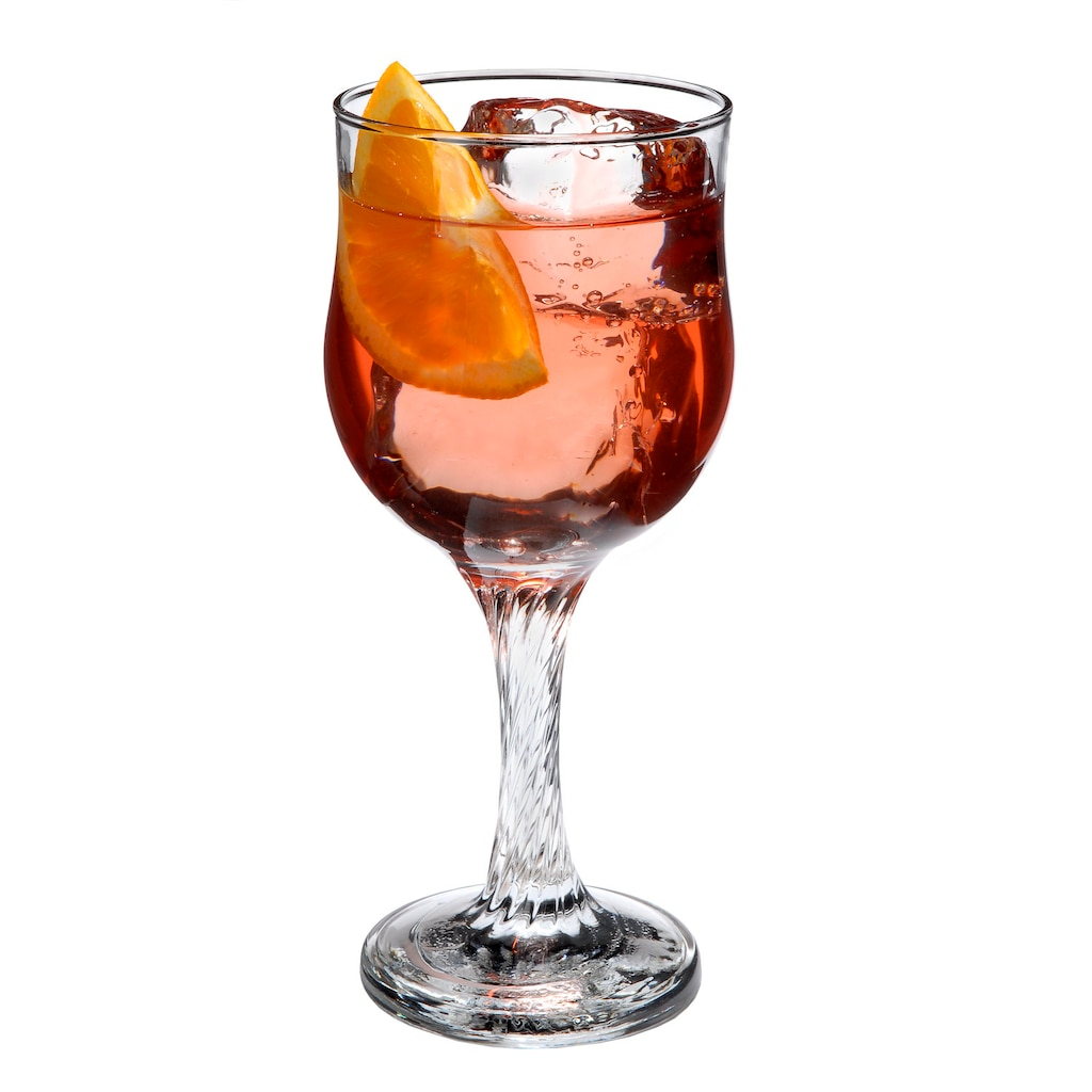 95a54ae10e8 Elegant Twisted Stem Wine Glasses with Bud-Shaped Bowls