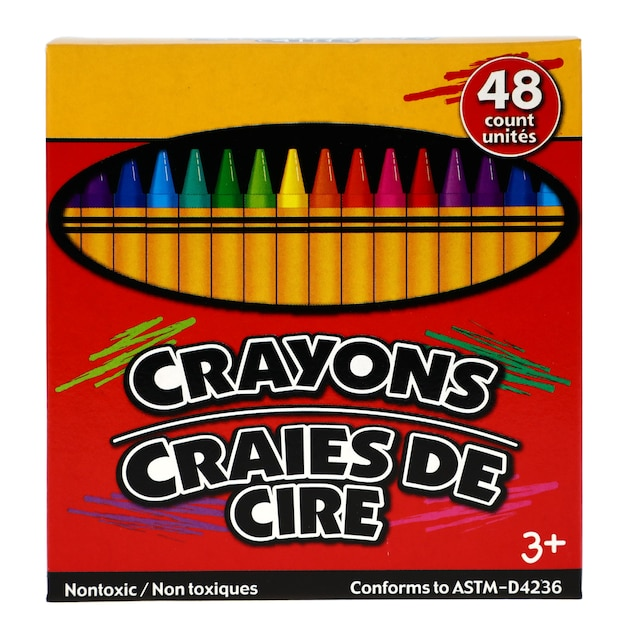 dollartree com boxed crayons with built in sharpener 48 ct boxes