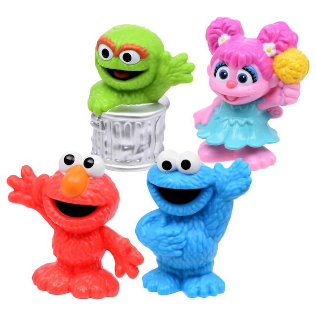 Sesame Street Cute And Collectable Figurines