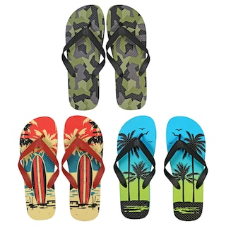 cdab46a16 View Mens Printed Rubber Flip Flops