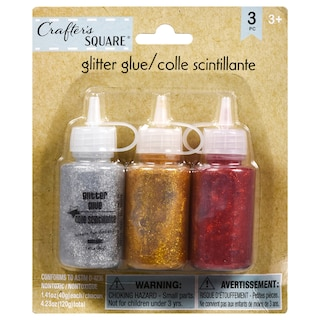 33e0abee4d0 View Crafters Square Glitter Glue