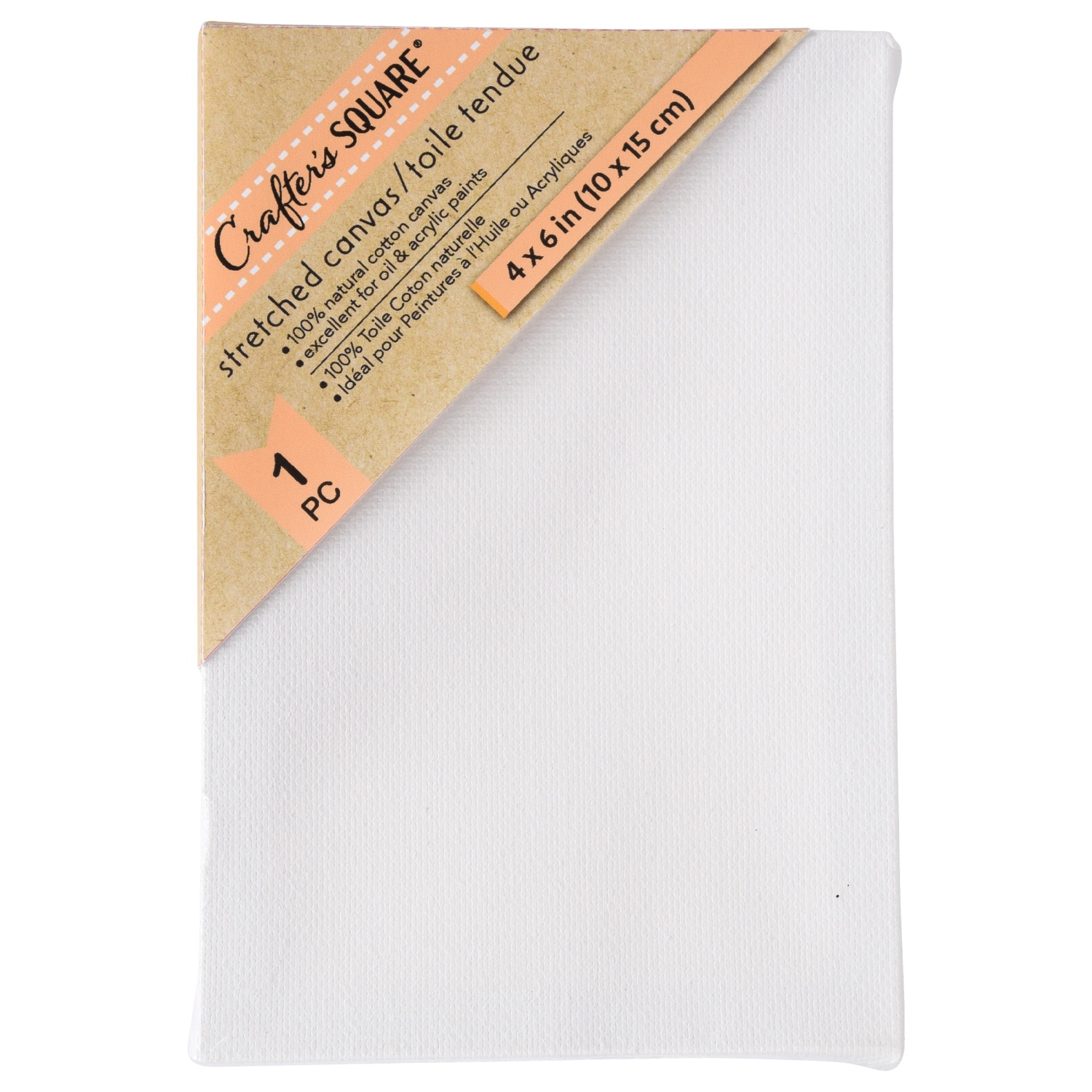 View Crafter's Square White Stretched Canvases,