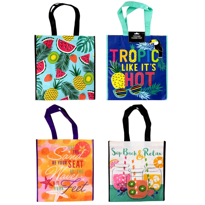 5d9222890d Laminated Printed Tote Bags