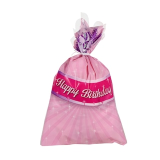 Princess Happy Birthday Cello Goodie Bags 20 Ct Packs Product Image