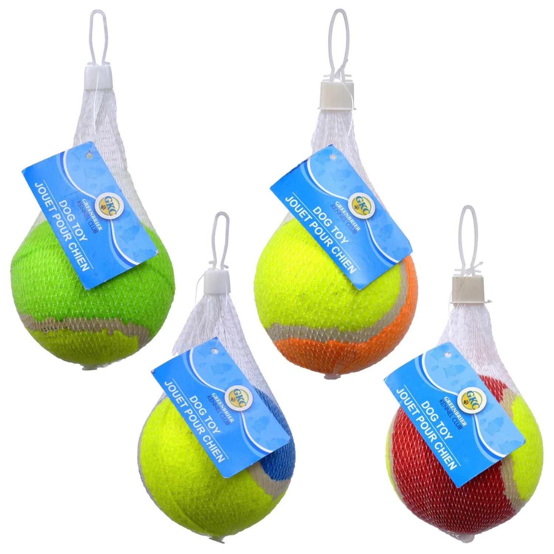 Dollartree Com Bulk Greenbrier Kennel Club Tennis Ball Dog Toys