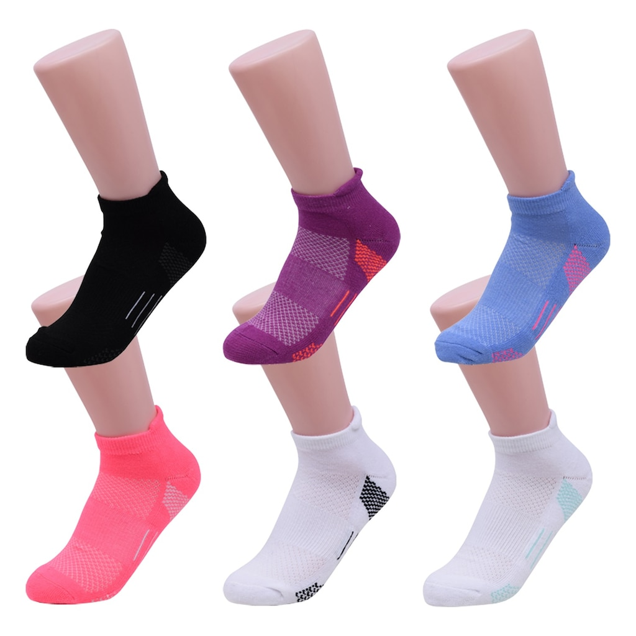 6b94392064b Women s Size 5-9 Low-Cut Performance Socks