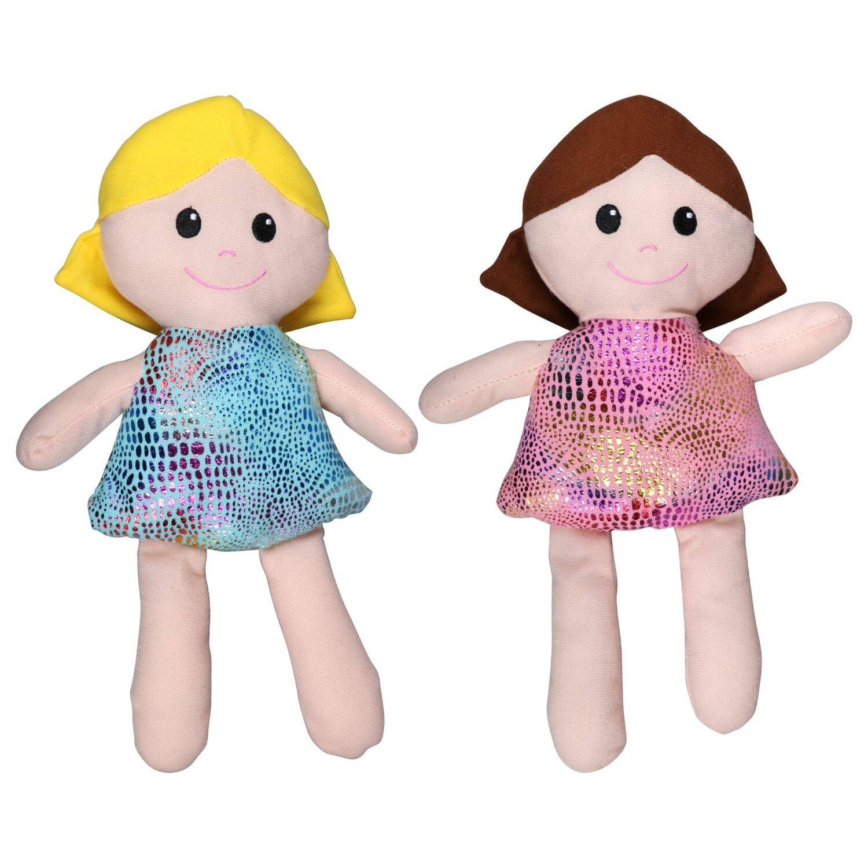 Handmade Dolls Hand Painted Fabric Dolls Stocking Stuffers Fabric Dolls Baby Dolls Plushies