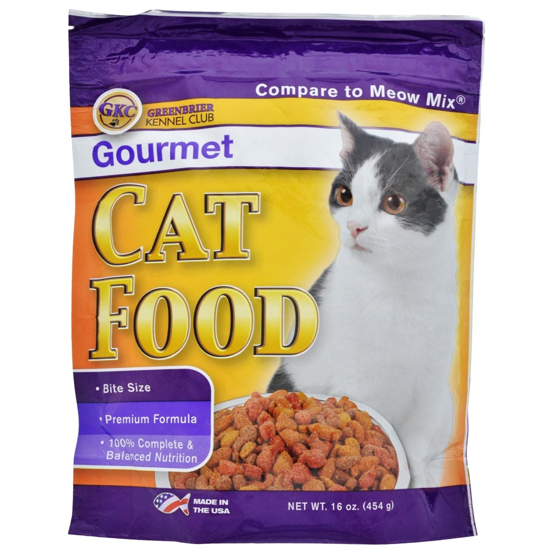 Dollartreecom Bulk Greenbrier Kennel Club Gourmet Dry Cat Food