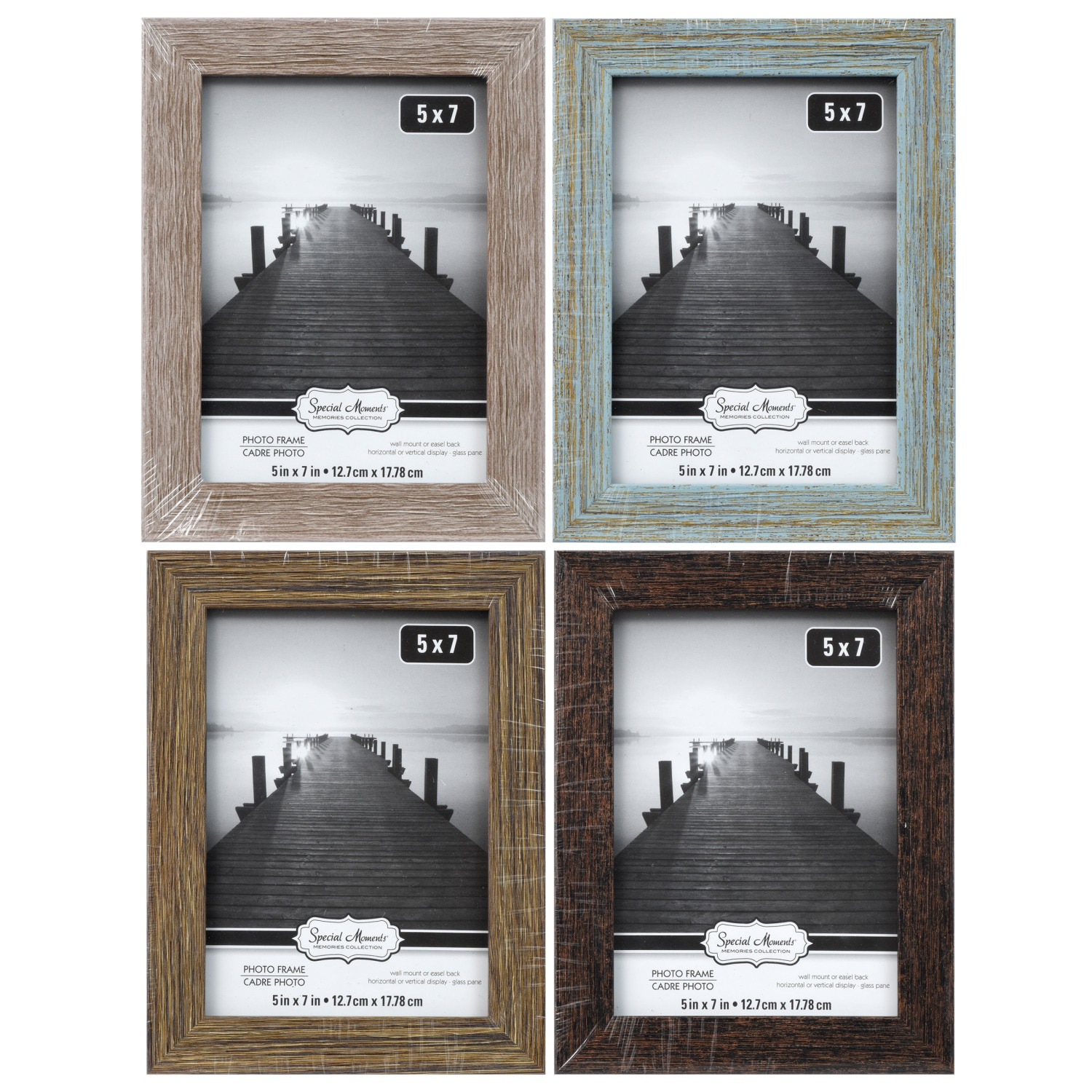 9762f534fba9 Special Moments Coastal Weathered Photo Frames