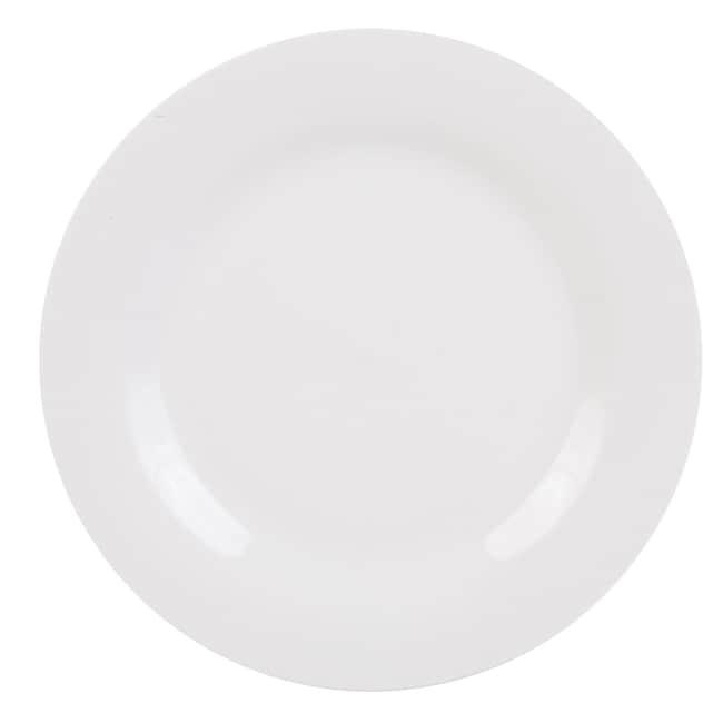 dollartree com royal norfolk classic white round stoneware dinner