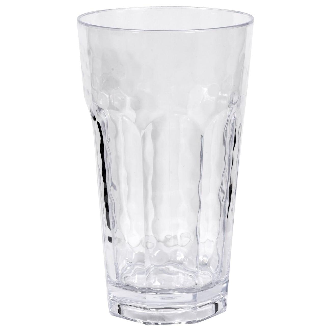 2ae76913b32 Clear Dimpled Plastic Drinking Tumblers, 22 oz.