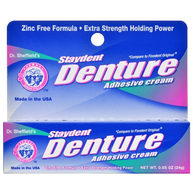 View Dr. Sheffield's Staydent Denture Adhesive