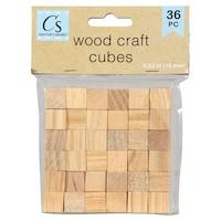 Wood Craft Cubes
