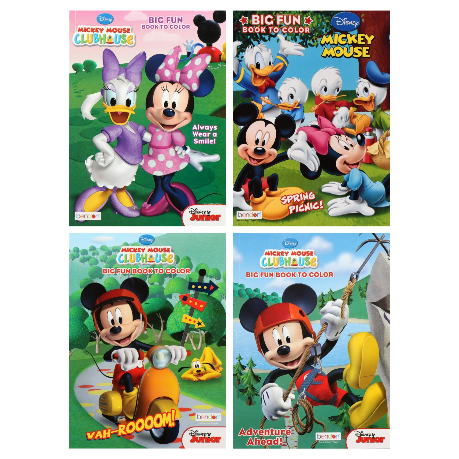 Mickey Mouse Coloring Books Dollar Tree Inc