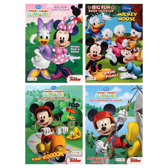 DollarTree.com   Bulk Bulk Bendon Mickey Mouse Big Fun Coloring Books