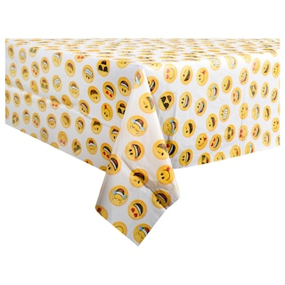 View Emoji Party Plastic Table Covers