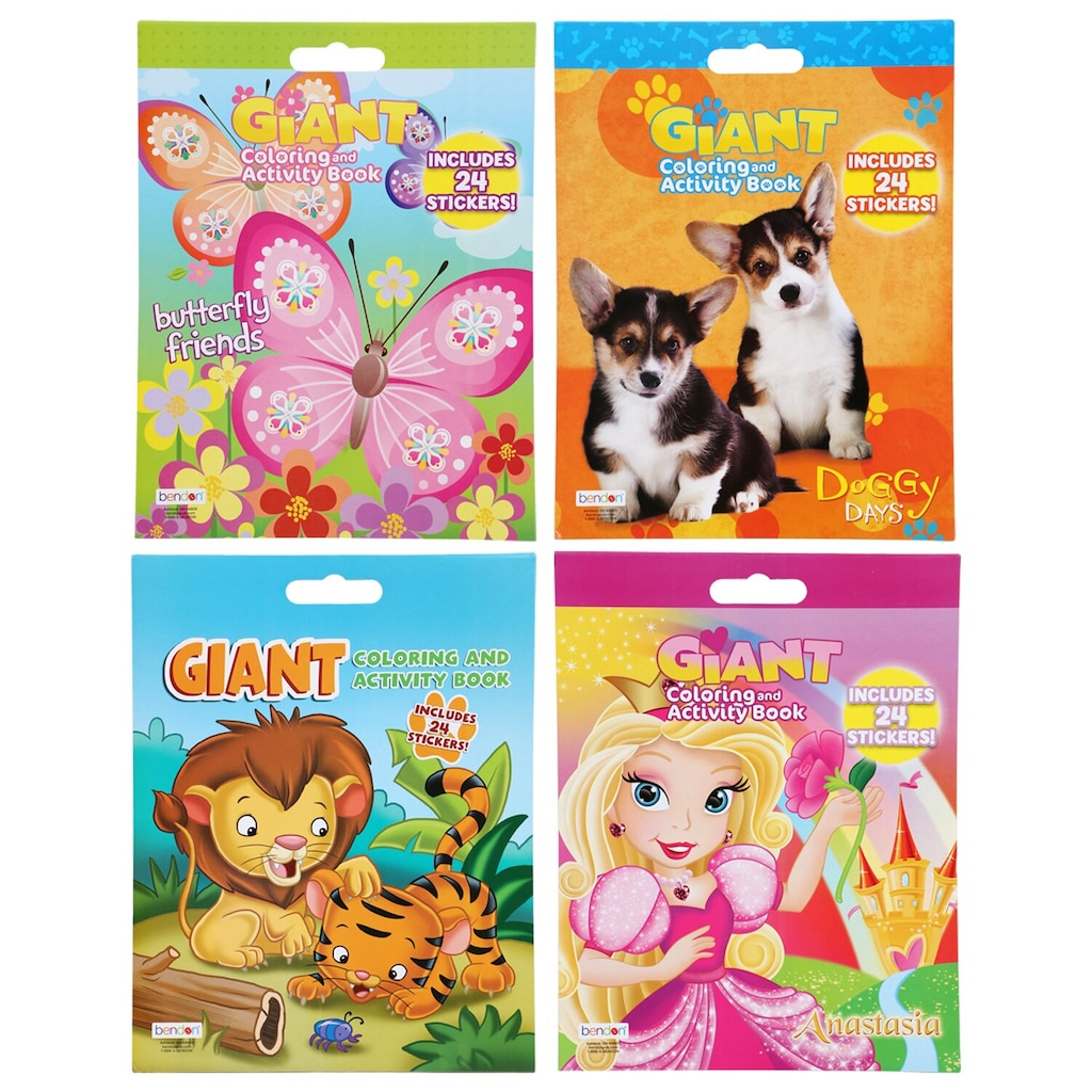 Display Product Reviews For Super Jumbo Activity And Coloring Books With Stickers