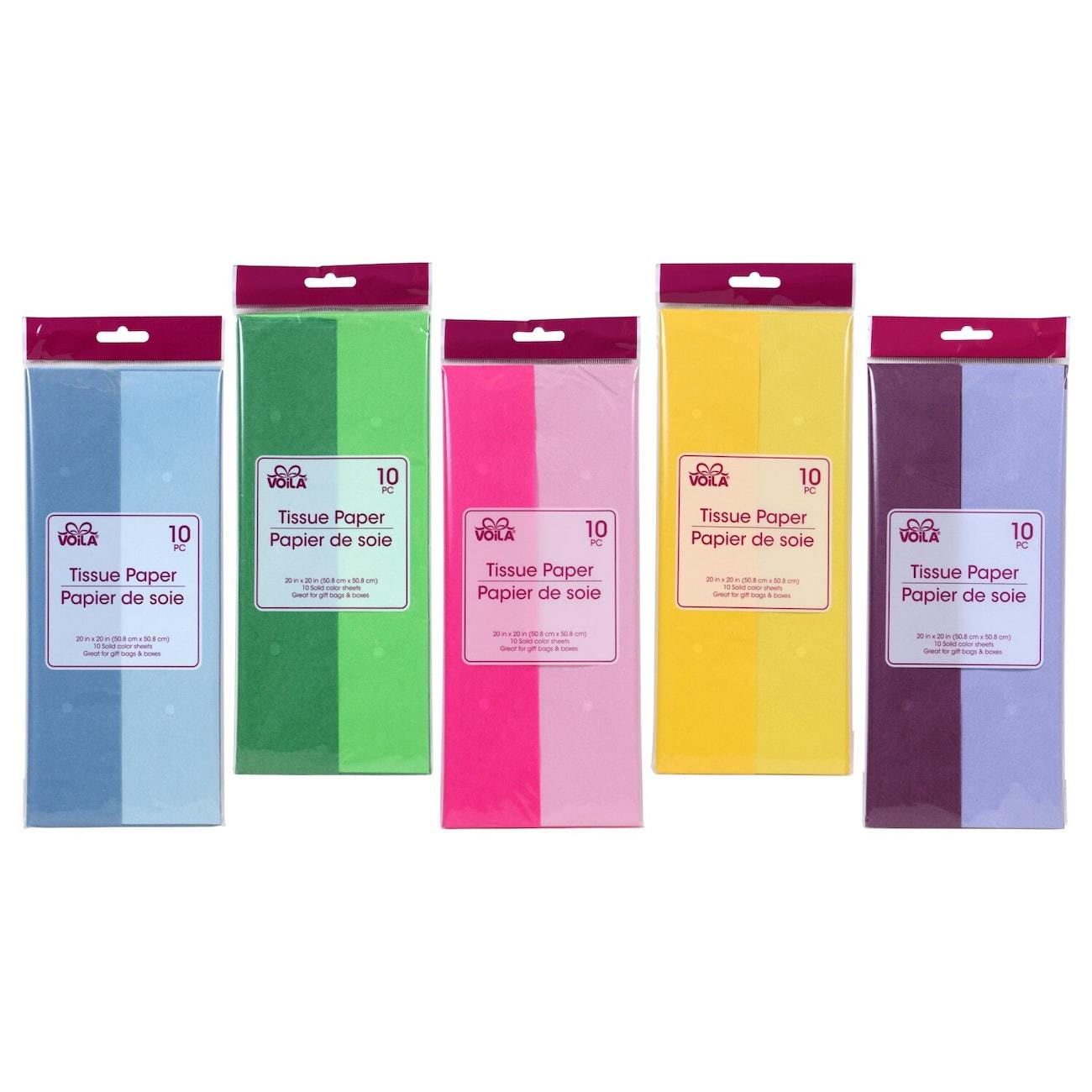 65765feb842a3 Voila Two-Tone Tissue Paper
