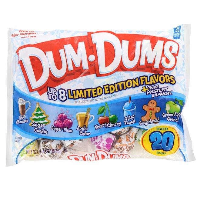 Dum Dums Mini Lollipops In Seasonal Flavors 5 4 Oz Bags