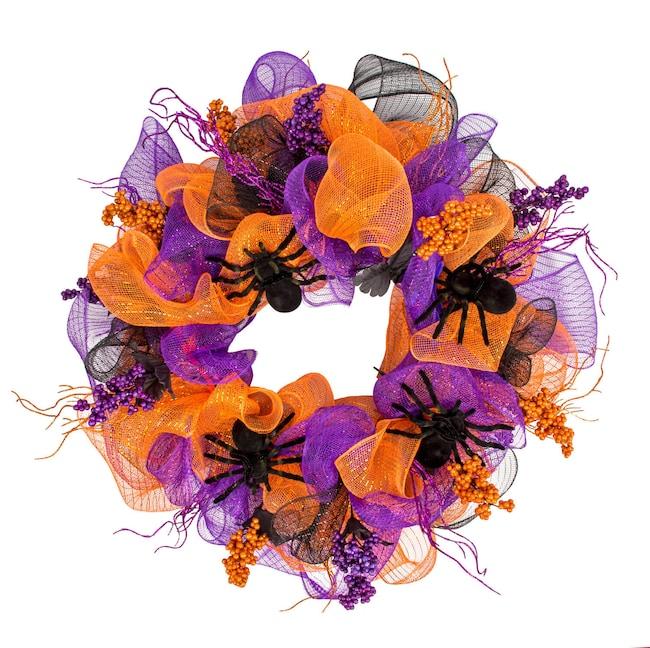 Halloween Craft Idea: Deco Mesh Wreath | Dollar Tree