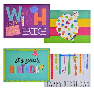 279336 Viola Extra Large Vogue Birthday Gift Bags