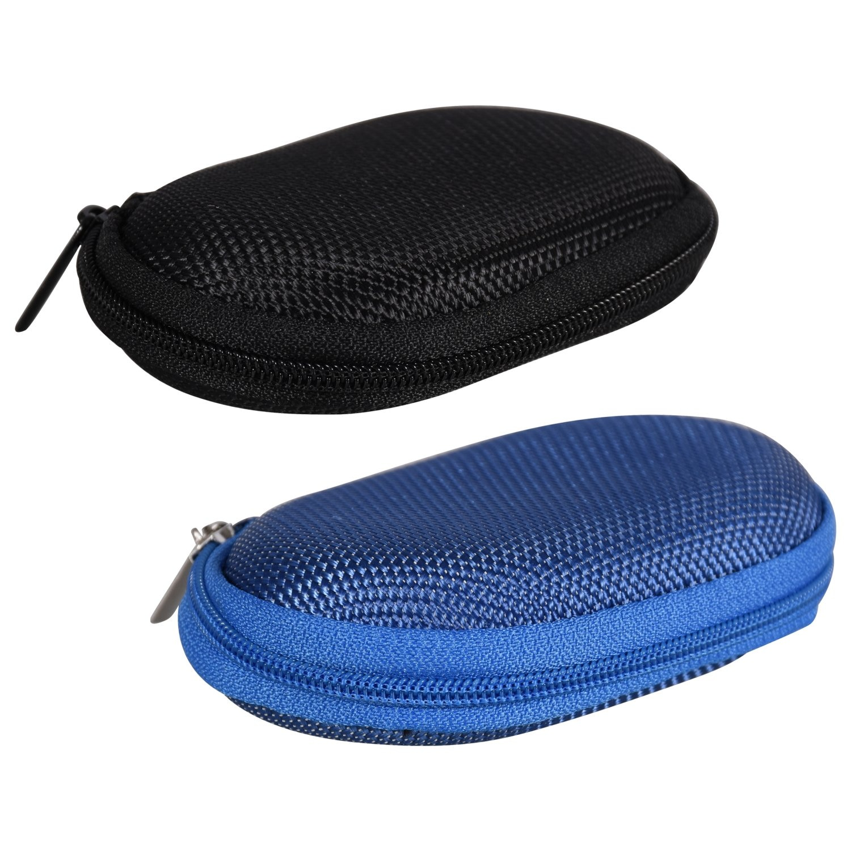 Wodwad Portable Travel Zipper Eyes Glasses Sunglasses Eyewear Shell Hard Case Protector Box Bag