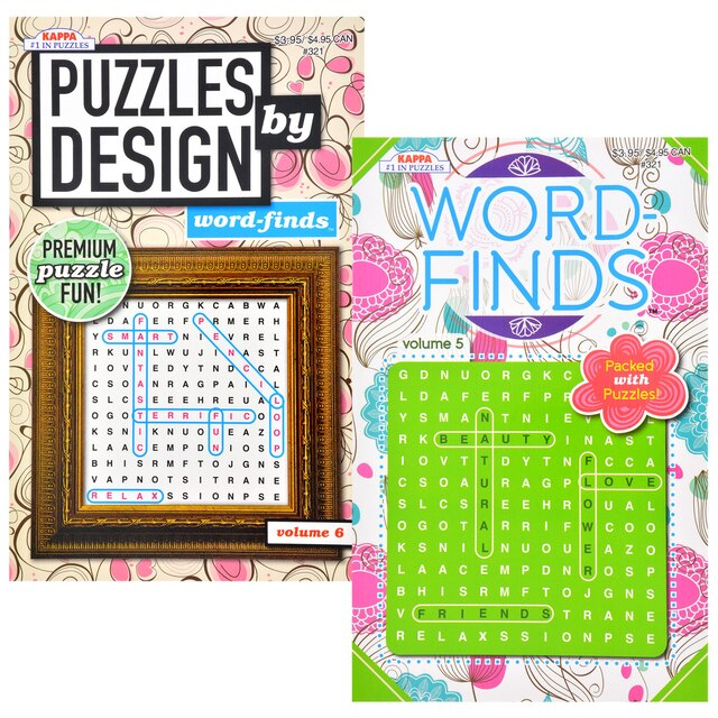 dollartree com kappa word find puzzle books