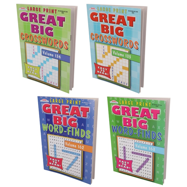 Kappa Great Big Word Find Puzzle Books