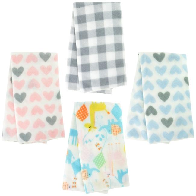 Angel of Mine Fleece Baby Blankets, 30x30 in