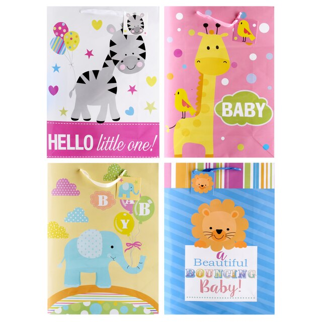 Voila Extra Large Baby Shower Gift Bags