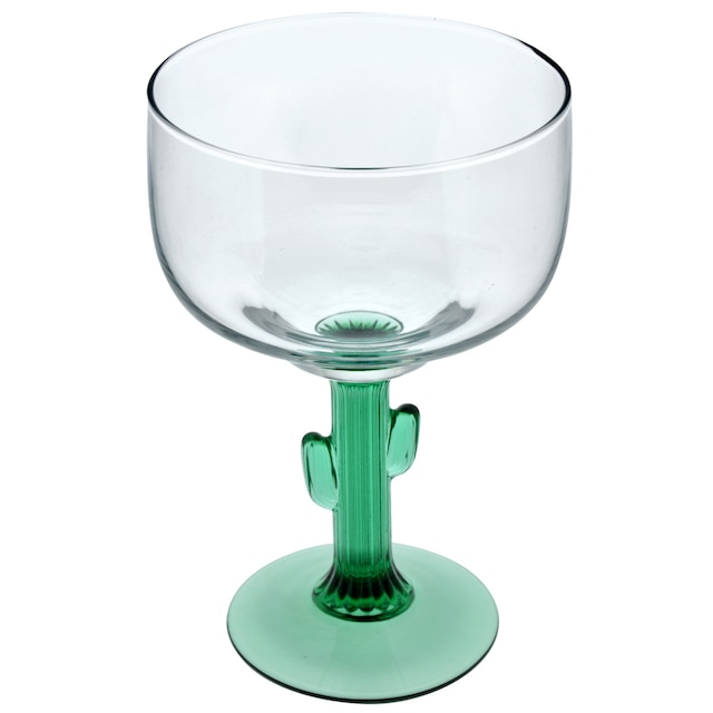 28410802683 DollarTree.com | Bulk Cactus Stemmed Margarita Glasses, 16 oz.