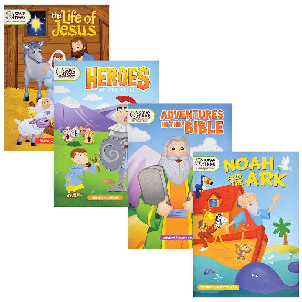 Display Product Reviews For Bible Themed Activity Coloring Books