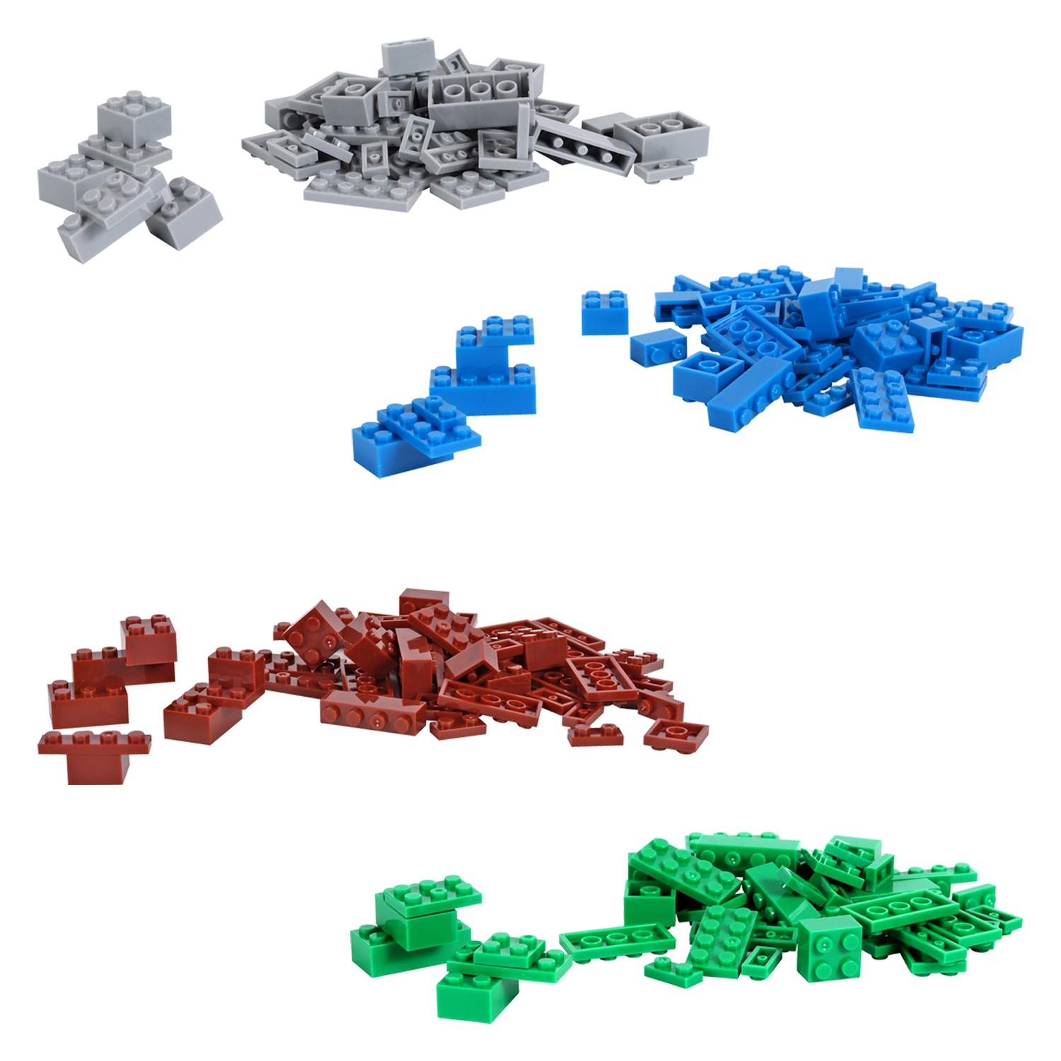 Building Block Brick Party range stationery set note pads jigsaw bags pencils