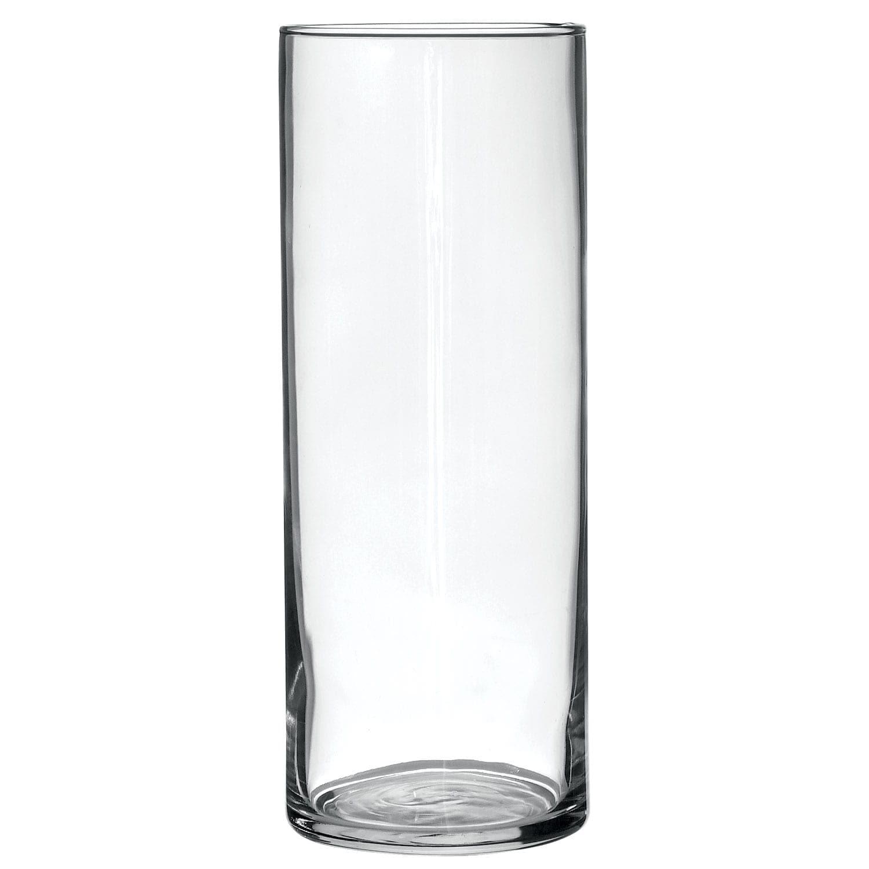 Glass Cylinder Vases 9 In